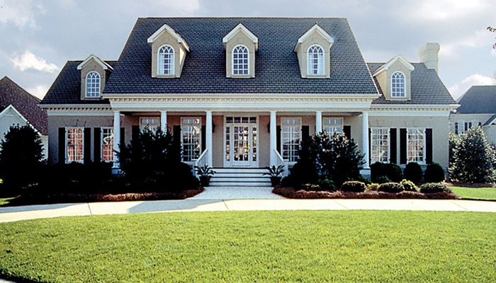 Architectural styles Colonial style homes floor plans
