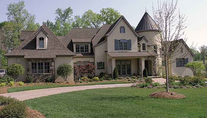 Architectural styles for European house