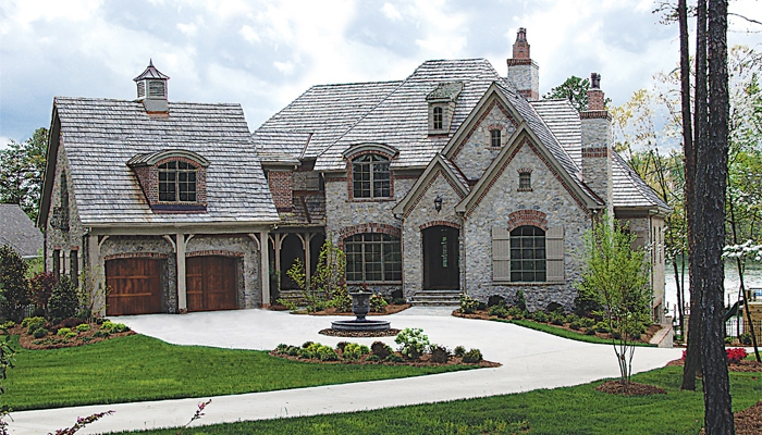 Architectural styles for French country style house